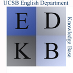 Logo for the English Department Knowledge Base